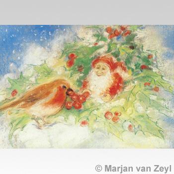 Obrázek Marjan van Zeyl - Skřítek s ptáčkem