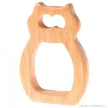 GRIMM´S Sova – dřevěná hračka pro miminka