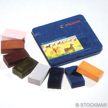 Voskové bločky STOCKMAR - 8 ks - Doplňkový mix