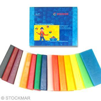 STOCKMAR Modelovací včelí vosk 15 barev