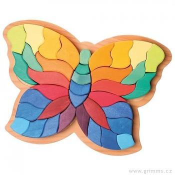 GRIMM´S Zvířecí puzzle motýl, 37 dílů