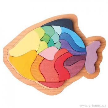 GRIMM´S Zvířecí puzzle ryba, 22 díly