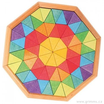 GRIMM´S Dřevěné puzzle osmihran oktagon, 72 díly