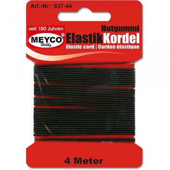 MEYCO Černá elastická šňůra (gumička)