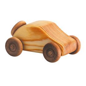 Auto dřevěné malé - kabrio s pneumatikou