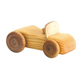 Auto dřevěné malé - kabriolet