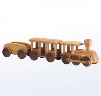 Velký vlak s vagóny