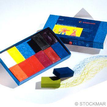 STOCKMAR Voskové bločky - 12 barev
