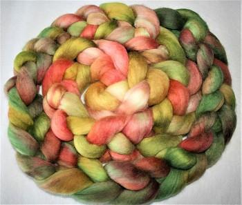 DOBRODĚJ Česané rouno jemné 10 g - ručně barvené - růžové