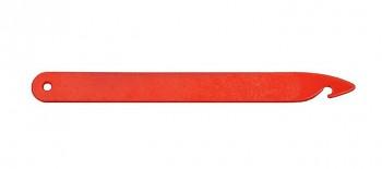 LOUËT Háček na zavlékání paprsku a nitěnek Texsolv - plastový červený