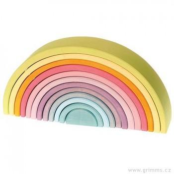 GRIMM´S Velký oblouk pastelové barvy, 12 dílů