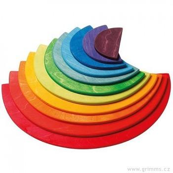 GRIMM´S Velká duha – půlkruhy barevné, 11 dílů