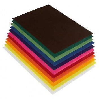 Transparentní voskovaný papír - arch 50 x 70 cm - různé barvy