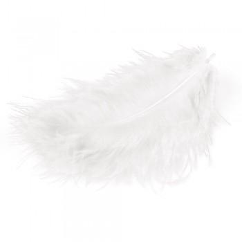 MEYCO Peříčka marabu - bílá