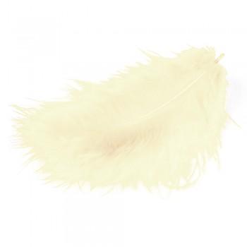 MEYCO Peříčka marabu - krémová