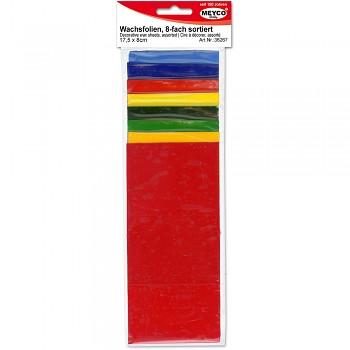 MEYCO Dekorační vosk 8 barev 17,5 x 8 cm