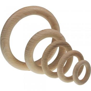 MEYCO Dřevěný kroužek - různé velikosti