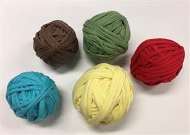 Bavlněné tkací vlákno - základní barvy
