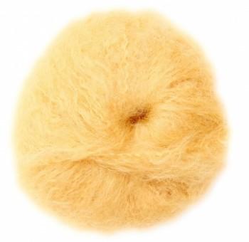 Hladká mohérová příze na vlasy panenek - přírodní blond