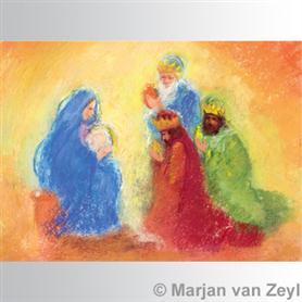Obrázek Marjan van Zeyl - Klanění tří králů