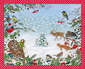 Adventní kalendář - Lesní Vánoce