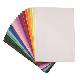 Japonský hedvábný papír - arch 50 x 70 cm - různé barvy