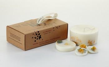Munio Candela Naturella collection - dárkový set