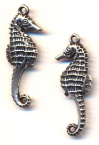 BC Akrylový přívěsek mořský koník - pokov starostříbro