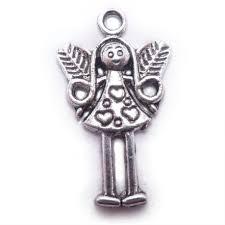 BC Kovový přívěsek anděl