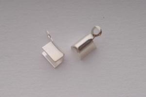 BN Koncovka plochá 3 x 2 mm - stříbro