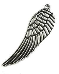 BN Kovový přívěsek křídlo - starostříbro