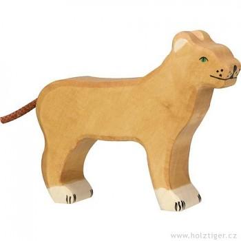 HOLZTIGER Lvice – dřevěné zvíře