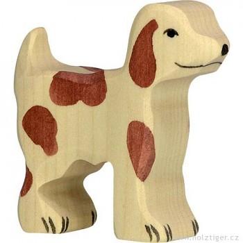 HOLZTIGER Malý hlídací pes – zvířátko ze dřeva