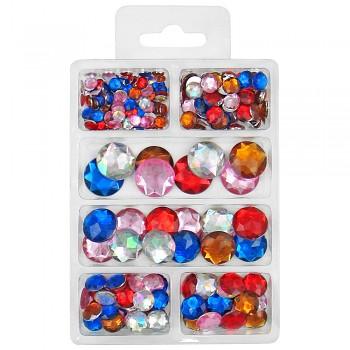 MEYCO Akrylové diamanty - barevné