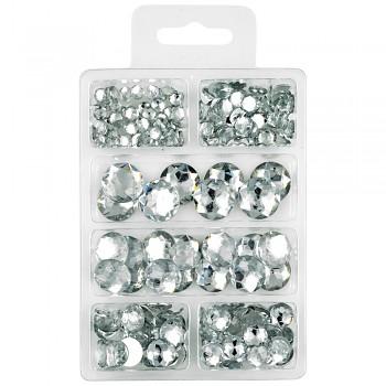 MEYCO Akrylové diamanty - čiré