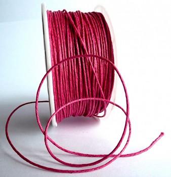 Bavlněná voskovaná šňůrka - metráž - různé barvy