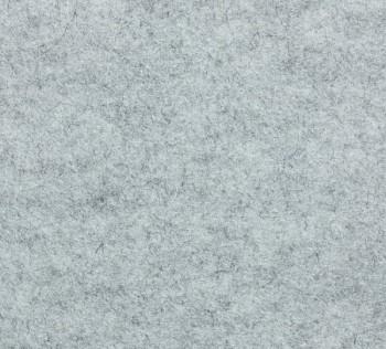 Filc 100% vlna - 10 mm - 25 x 183 cm - melír 5 světle šedý