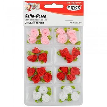 MEYCO Satinové růžičky