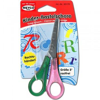 MEYCO Školní nůžky - pravo- nebo levoruké