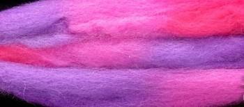 Multibarevná ovčí vlna 10g - 22 Růženka