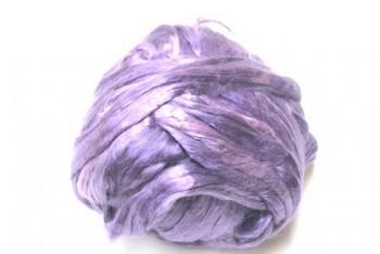 Hedvábné vlákno 5 g - fialová světlá