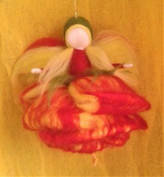 DOBRODĚJ Elfinka - ohnivá růže