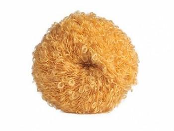 Vlnitá mohérová příze na vlasy panenek - blond