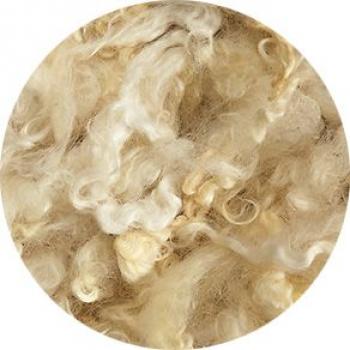 DOBRODĚJ Ovčí vlna přírodní vlnitá 10 g - krémová
