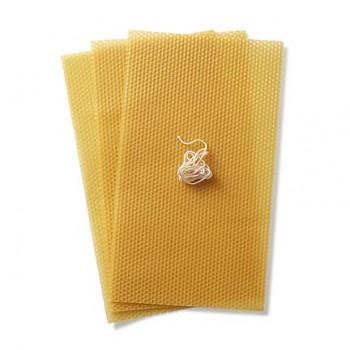 STOCKMAR Včelí vosk - 3 pláty A4  - včetně knotu