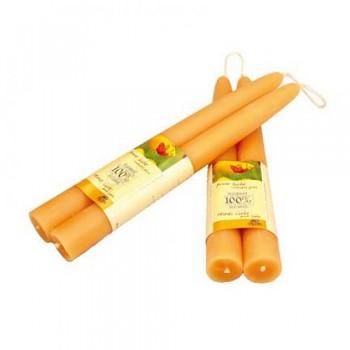 DIPAM Máčené svíce ze včelího vosku - různé velikosti
