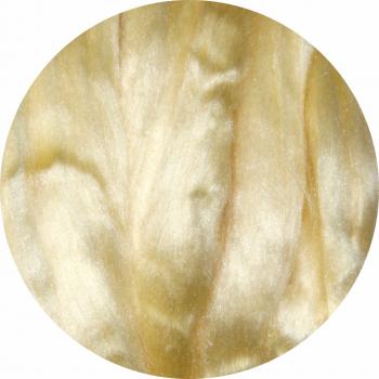 Hedvábné vlákno přírodní 5 g - pastelová žlutá