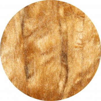 Hedvábné vlákno přírodní 5 g - měděná