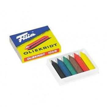 FILIA Olejové pastely - sada 6 barev