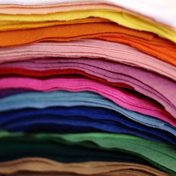 Filc 1 mm (165 gr.) - obdélník 22 x 20 cm - jednotlivé barvy